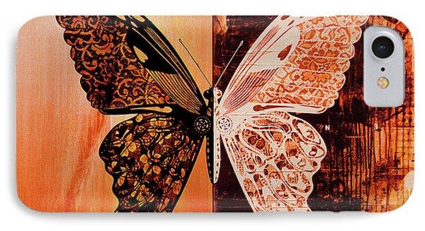 Butterfly Art 88u IPhone Case by Gull G