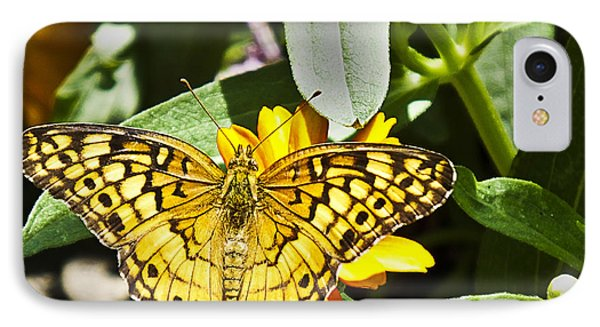IPhone Case featuring the photograph Butterfly At Rest by Bill Barber