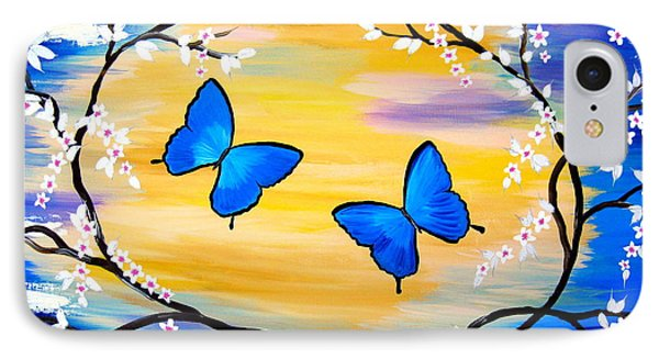 Butterfly Bliss IPhone Case by Cathy Jacobs