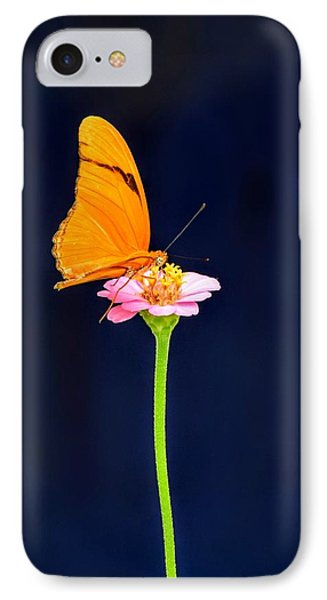 Butterfly Bloom IPhone Case by Mary Zeman