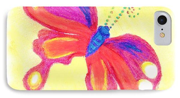 Butterfly Phone Case by Chandelle Hazen