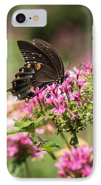 IPhone Case featuring the photograph Butterfly Dream by Julie Andel