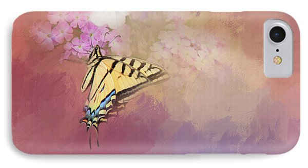 IPhone Case featuring the photograph Butterfly Dreams by Theresa Tahara