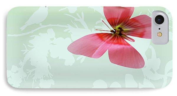 Butterfly Floral Phone Case by Debra     Vatalaro
