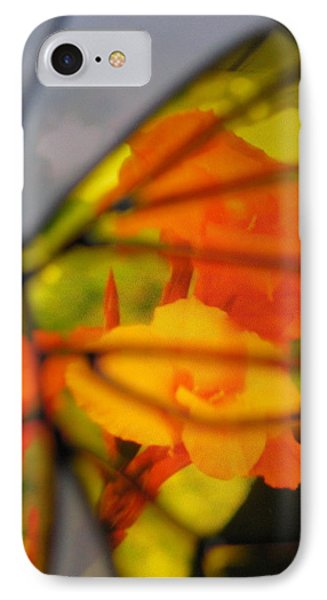 Butterfly Florals  Collection D Phone Case by Debra     Vatalaro