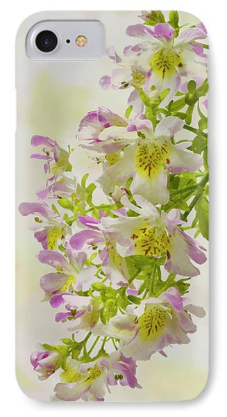 Butterfly Flowers  Phone Case by Sandra Foster