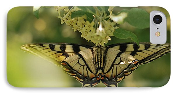 IPhone Case featuring the photograph Butterfly From Another Side by Susan Capuano