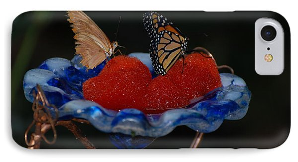 IPhone Case featuring the photograph Butterfly Fruit by Richard Bryce and Family