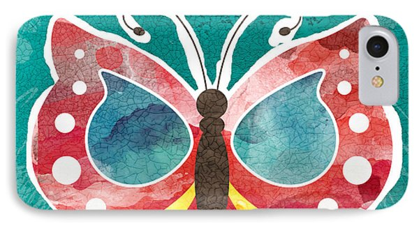 Butterfly Happiness IPhone Case