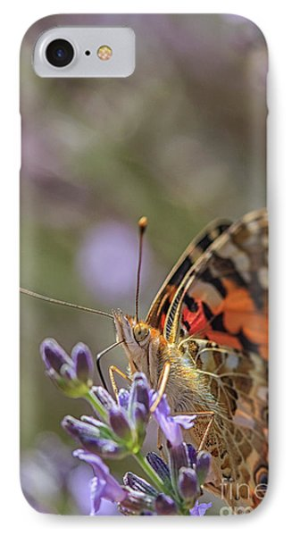 IPhone Case featuring the photograph Butterfly In Close Up by Patricia Hofmeester
