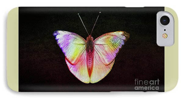 Butterfly In Retro  IPhone Case