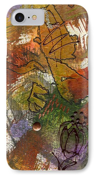 IPhone Case featuring the mixed media Butterfly Kisses by Angela L Walker