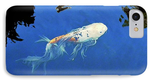 Butterfly Koi In Blue Sky Reflection IPhone Case