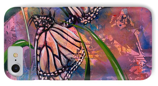 Butterfly Love Phone Case by AnnaJo Vahle