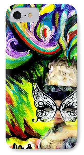 Butterfly Masquerade IPhone Case by Genevieve Esson