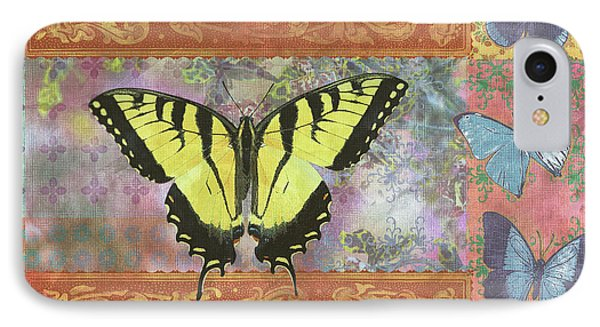 Butterfly Mosaic IPhone Case by JQ Licensing