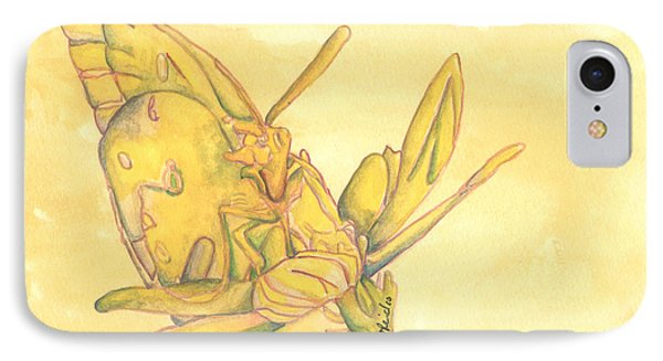 Butterfly  IPhone Case by Versel Reid