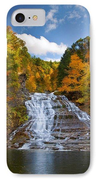 Buttermilk Falls 2 IPhone Case by Mark Papke