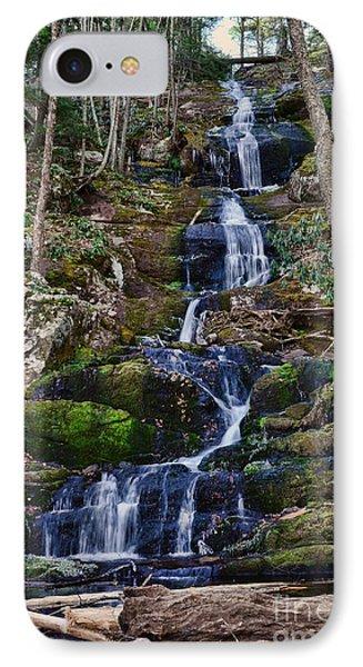 Buttermilk Falls All 200 Feet IPhone Case by Paul Ward