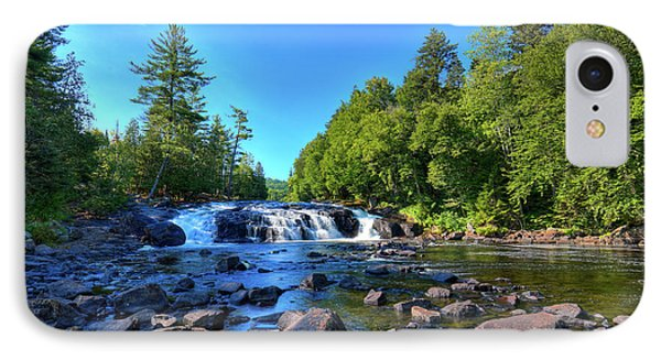 Buttermilk Falls IPhone Case by David Patterson
