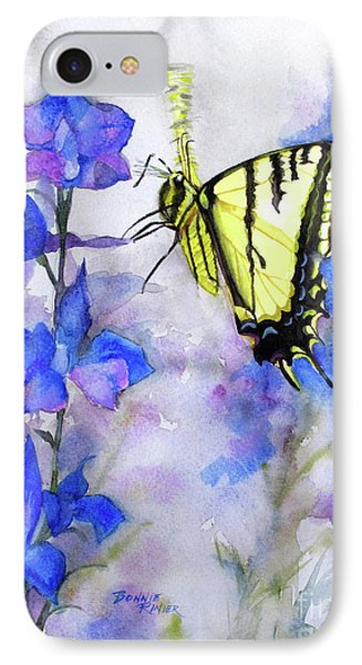 Butteryfly Delight IPhone Case by Bonnie Rinier