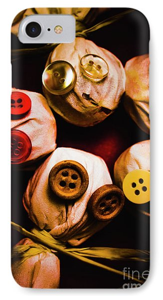 Button Sack Lollypop Monsters IPhone Case by Jorgo Photography - Wall Art Gallery