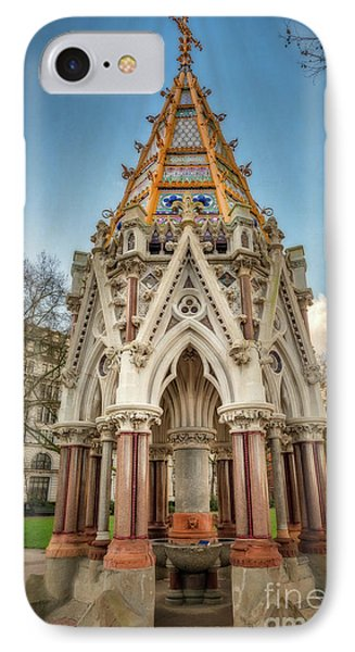 Buxton Memorial London IPhone Case by Adrian Evans