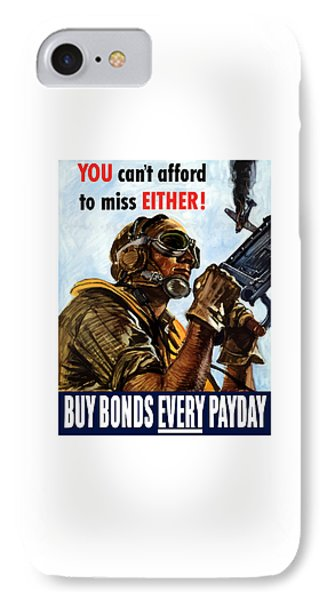 Buy Bonds Every Payday Phone Case by War Is Hell Store