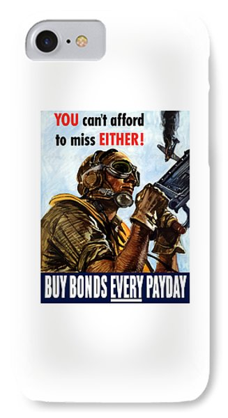 Buy Bonds Every Payday IPhone Case by War Is Hell Store