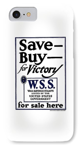 Buy For Victory IPhone Case