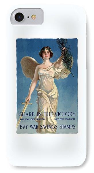 Buy War Savings Stamps IPhone Case