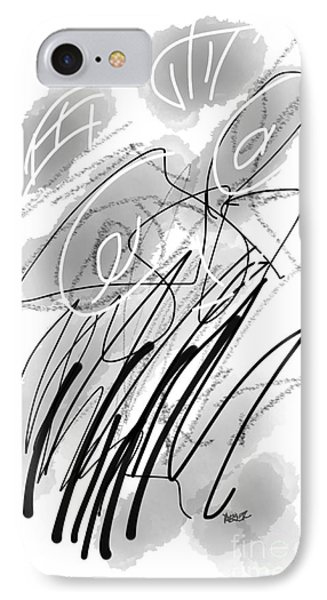 Bw Abstract 10161 IPhone Case