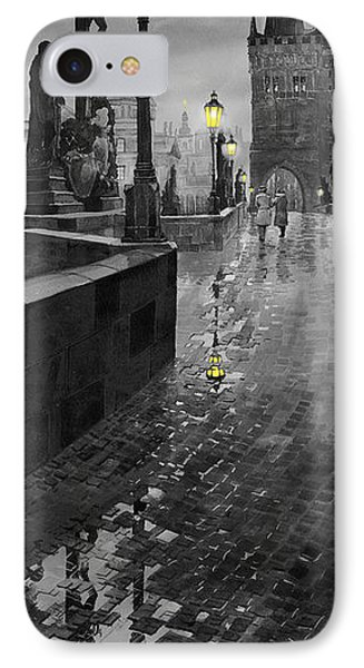 Bw Prague Charles Bridge 01 IPhone Case