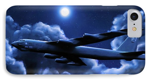 By The Light Of The Blue Moon IPhone Case by Dave Luebbert