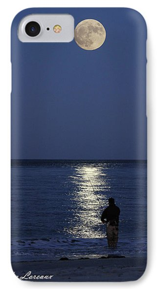 By The Light Of The Supermoon IPhone Case by John Loreaux