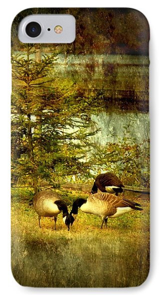 By The Little Tree - Lake Carasaljo IPhone Case by Angie Tirado