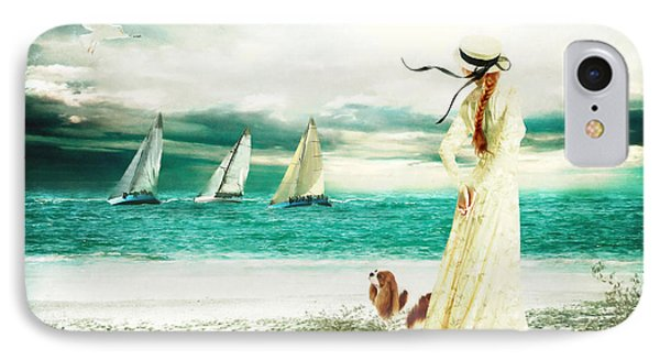 By The Sea Phone Case by Shanina Conway