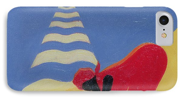 By The Sea Shore Phone Case by Tilly Willis