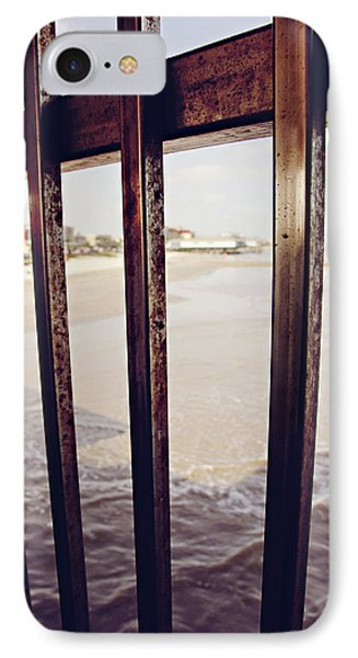 IPhone Case featuring the photograph By The Sea by Trish Mistric