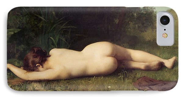 Byblis Turning Into A Spring IPhone Case by Jean Jacques Henner