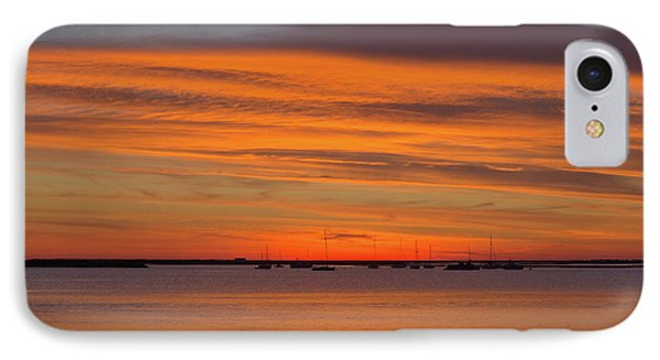 Bye Sunset IPhone Case by Angelo DeVal