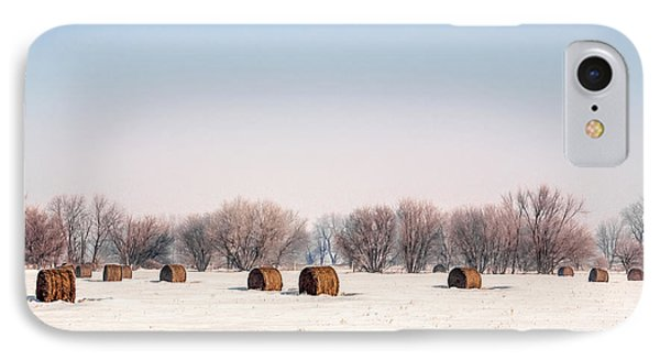 Bygone Bales IPhone Case by Todd Klassy
