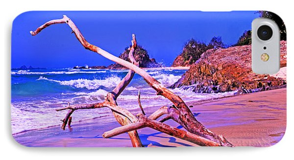 Byron Beach Australia Phone Case by Chris Smith