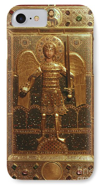 Byzantine Art: St. Michael Phone Case by Granger