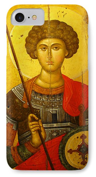 Byzantine Knight Phone Case by Ellen Henneke