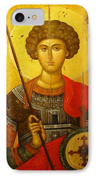 Byzantine Knight IPhone Case