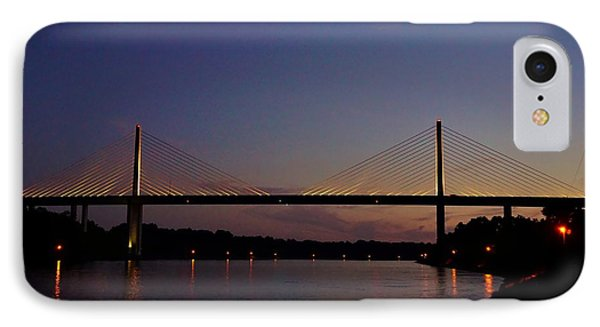 C And D Canal Bridge IPhone Case