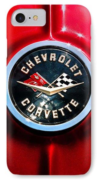 C2 Corvette Logo Phone Case by Scott Wyatt