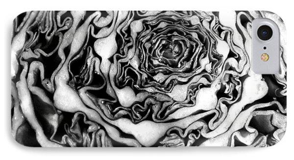 Cabbage Fractal Photograph IPhone Case