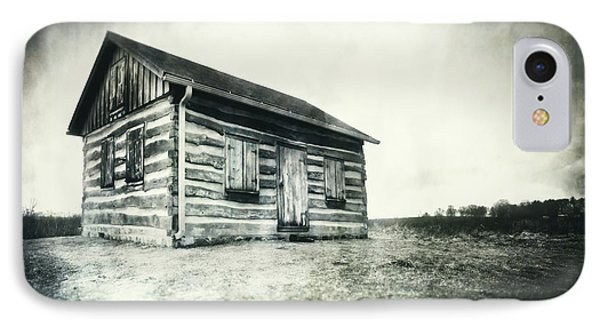 Cabin Near Paradise Springs - Kettle Moraine State Forest IPhone Case by Jennifer Rondinelli Reilly - Fine Art Photography